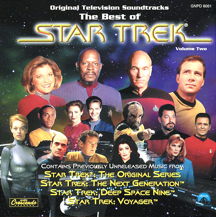 The Best Of Star Trek. Volume Two. Original Television Soundtracks