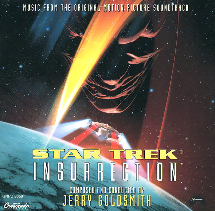 Star Trek. Insurrection. Music From The Original Motion Picture Soundtrack hans zimmer the thin red line original motion picture soundtrack