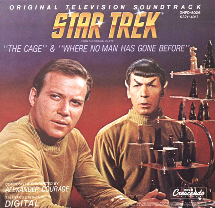 Алехандер Куредж Star Trek. The Cage / Where No Man Gone Before. Original Television Soundtrack where have all the heroes gone