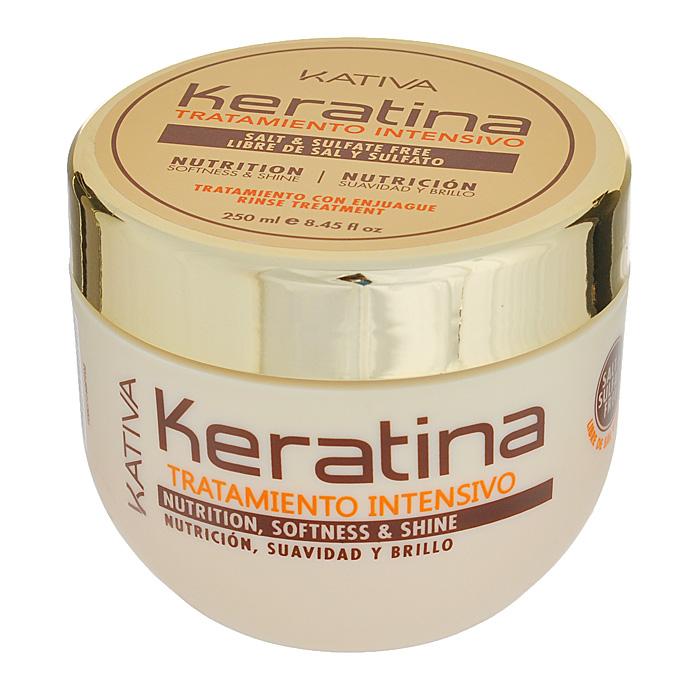 Kativa Интенсивно восстанавливающий уход с кератином для поврежденных и хрупких волос KERATINA, 250 млO-54-242Восстанавливающее средство для поврежденных и ломких волос великолепно смягчает и разглаживает материю волос. Регулярное использование маски укрепит структуру волос, подарит им здоровый блеск, гладкость и непревзойденное сияние. Глубокое действие маски, которая восстанавливает природные свойства ваших волос.Способ применения: нанести на чистые влажные волосы по всей длине. Оставить на 10-15 минут для глубокого воздействия, а затем тщательно смыть.