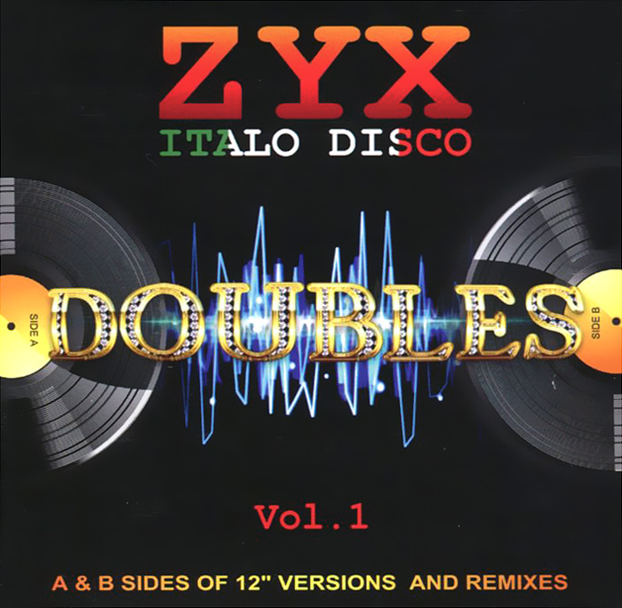Zyx Italo Disco. Doubles Vol.1 (2 CD)