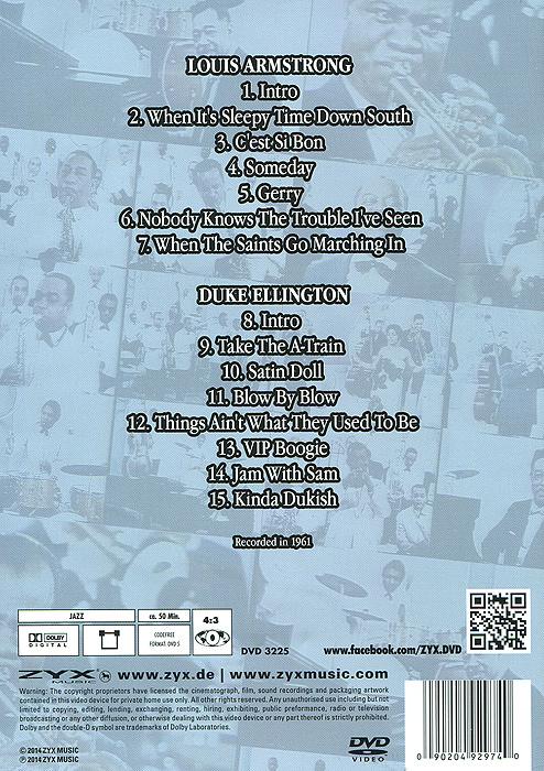 Historic Jazz Videos:  Vol.  3 ZYX Music