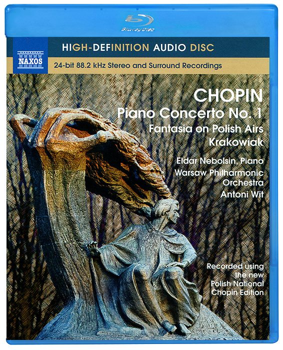 Эльдар Небольсин,Warsaw Philharmonic Orchestra Chopin. Piano Concerto No. 1 (Blu-Ray Audio) цена 2017