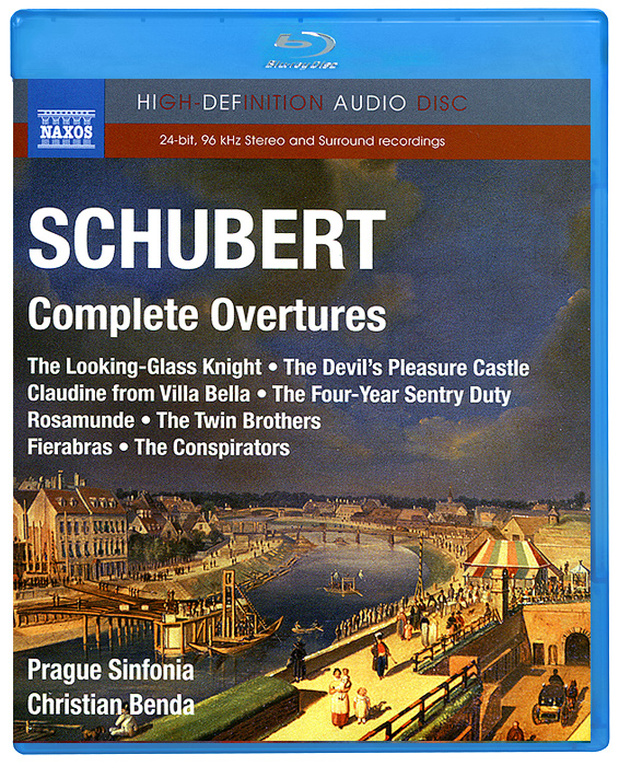 Prague Sinfonia,Кристиан Бенда Schubert. Complete Overtures (Blu-Ray Audio) светильник подвесной st luce perlina sl707 513 01 1xe27x60w 24 x 24 x 110 см