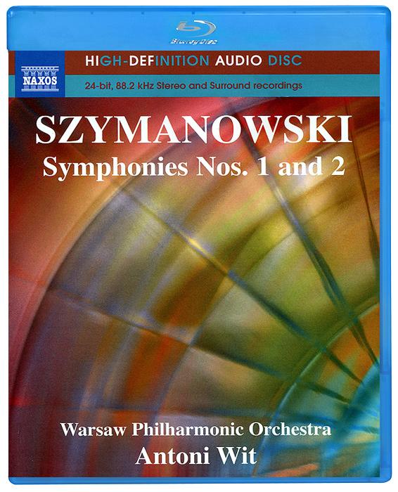 Ева Марзук,Марек Марзук,Warsaw Philharmonic Orchestra,Энтони Вит Szymanowski. Symphonies Nos. 1 And 2 (Blu-Ray Audio) цены онлайн