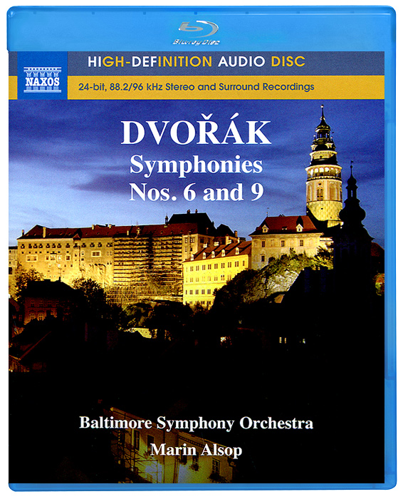 Baltimore Symphony Orchestra,Марин Элсоп Dvorak. Symphonies Nos. 6 And 9 (Blu-Ray Audio)