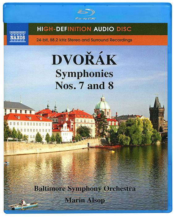 Baltimore Symphony Orchestra,Марин Элсоп Dvorak. Symphonies Nos. 7 And 8 (Blu-Ray Audio)