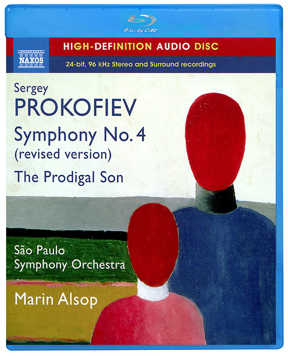 Prokofiev. Symphony No. 4 (Revised Version) (Blu-Ray Audio)