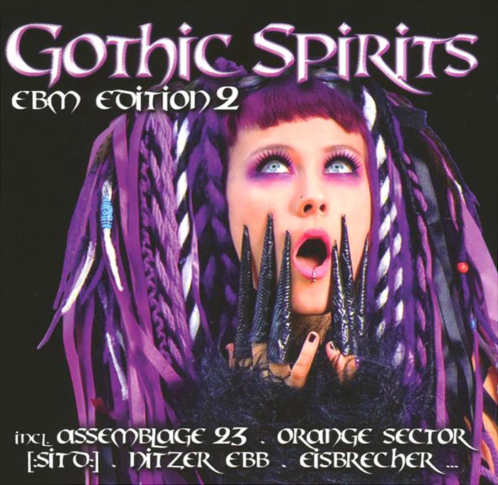 Eisbrecher,Eisenfunk,Grendel,Xotox,Rotersand,Ayria,Megaherz,XP8 Gothic Spirits. EBM Edition 2 (2 CD) gothic compilation 64 2 cd