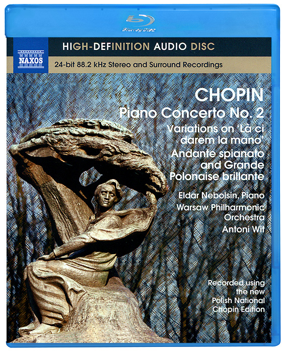 Эльдар Небольсин,Warsaw Philharmonic Orchestra Chopin. Piano Concerto No. 2 (Blu-Ray Audio) цена 2017