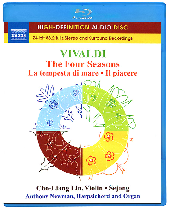 Энтони Ньюман,Чо-Лян Лин,Harpsichord And Portatif Organ Vivaldi. The Four Seasons (Blu-Ray Audio) cami nyc майка