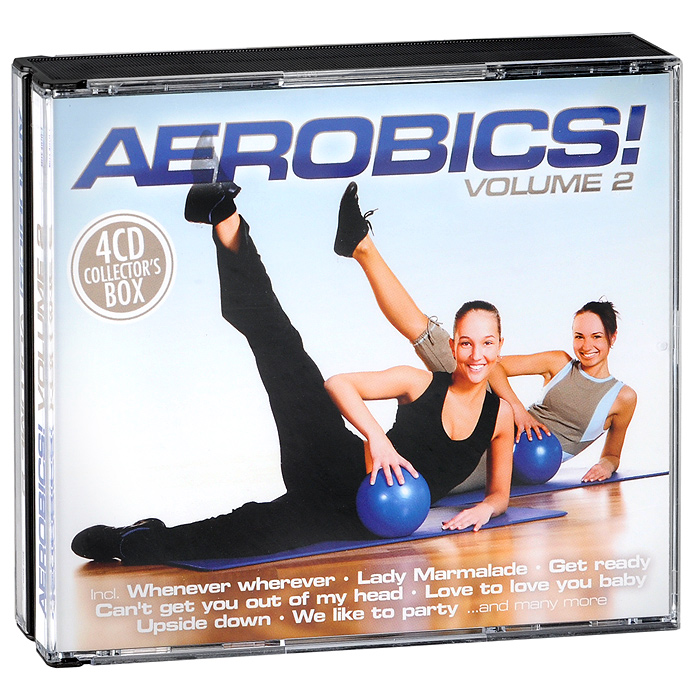 Aerobics! Volume 2 (4 CD)