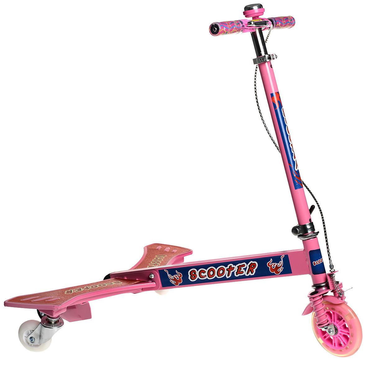 WSBD World Самокат тридер, цвет: розовый. BY859345, Concord Toys International Limited