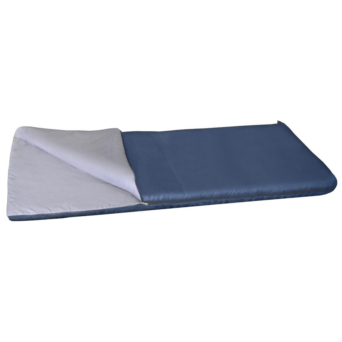 Спальный мешок-одеяло Alaska Одеяло +15 °С, цвет: синий, левосторонняя молния. 95217-405-0095217-405-00Спальный мешок Одеяло +15 - один из самых недорогих, летний спальный мешок для самого экономного туриста. Основное отличие от остальных спальных мешков категории одеяло - это конечно цена! Даже отсутствие в комплекте компрессионного мешка обусловлено исключительно стремлением сделать цену спальника для комфортного отдыха на природе максимально доступной. Несмотря на низкую стоимость, спальный мешок Одеяло +15 отвечает всем требованиям к современным спальникам, обеспечивает достойный, комфортный отдых и максимальную простоту в обслуживании. Материал известного утеплителя Холлофайбер проверен многолетним опытом эксплуатации спальников более ранних моделей. Спальный мешок Одеяло +15 - это дежурный спальник для дачи, его можно постоянно возить в багажнике авто на всякий пожарный случай, можно укрыть нежданных гостей расстегнув спальник и превратив его в полноценное одеяло.Вывод: спальник Одеяло +15 - простой, надежный, дешевый спальный мешок на все случаи жизни.Ткань верха: Политафета 170Т.Внутренняя ткань: Политафета 170Т.Для одеял без подголовника Alaska Одеяло +15 °С левая или правая молния не имеет значения, они состегиваются.