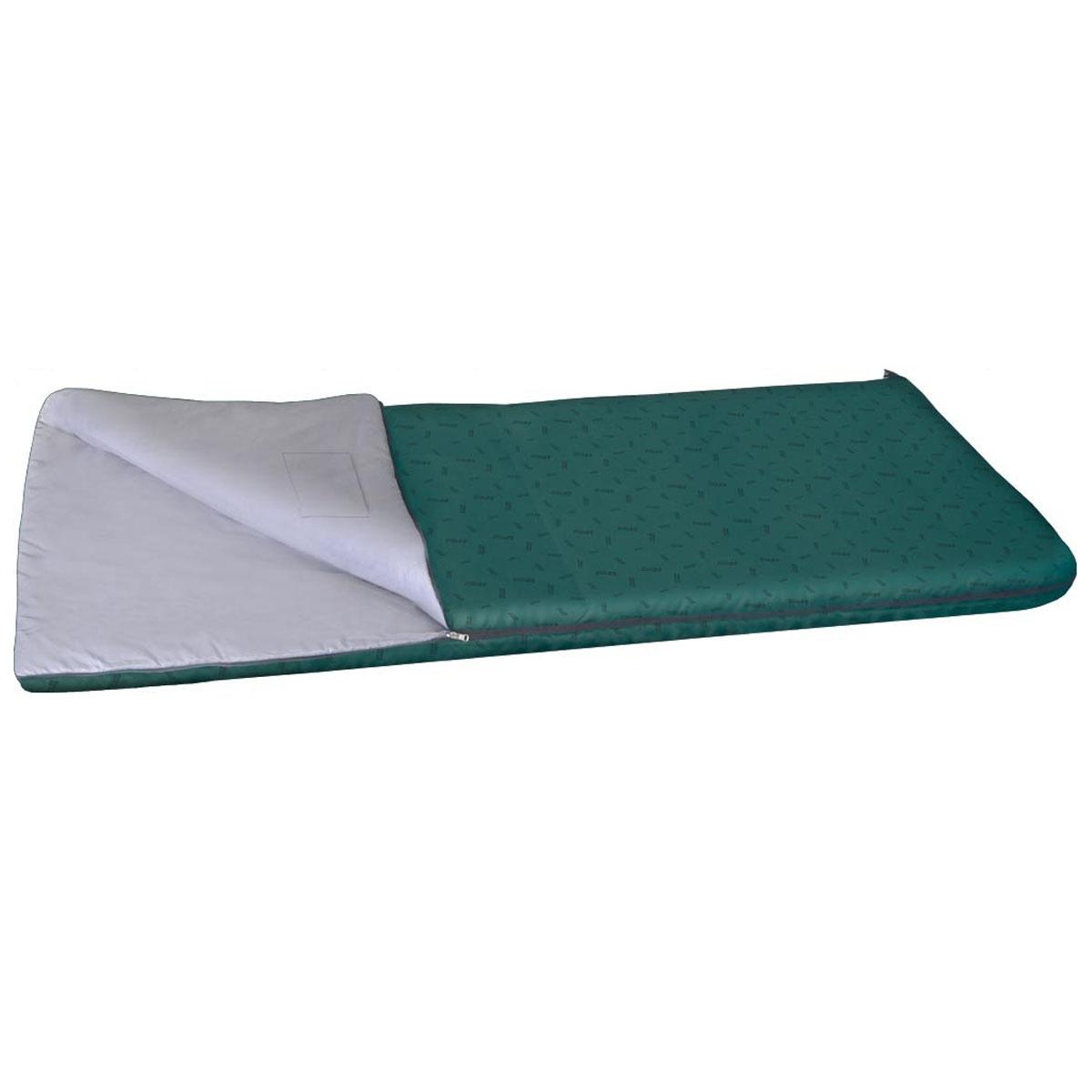 Спальный мешок-одеяло Nova Tour Валдай 300, цвет: нави, левосторонняя молния. 95210-306-0095210-306-00Спальный мешок Валдай 300 - это ваш первый спальник, отличный вариант для начинающего туриста. Если вам трудно определиться с условиями, в которых будет использоваться спальник, то Валдай 300 именно тот вариант, универсальный, недорогой и надежный. Купив спальный мешок Валдай 300, вы получаете полноценный отдых без особых материальных затрат. Температурные характеристики этого спальника предполагают его использование в теплое время года. Два слоя новейшего утеплителя улучшенной серии Thermofibre-S-Pro, легкая ткань верха Polyester 100% и отсутствие дополнительного подголовника обеспечили низкий вес спальника Валдай 300 и небольшие размеры в свернутом виде. Спальник компактно упаковывается в компрессионный мешок.Благодаря двухзамковой молнии, имеется возможность состегнуть два спальника в один двойной,для совместного, еще более комфортногоотдыха.Ткань верха: Polyester 100%.Внутренняя ткань: Polyester 100%.
