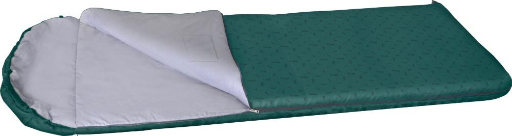 Спальный мешок NOVA TOUR Карелия 450 XL, с подголовником, левосторонняя молния, цвет: нави