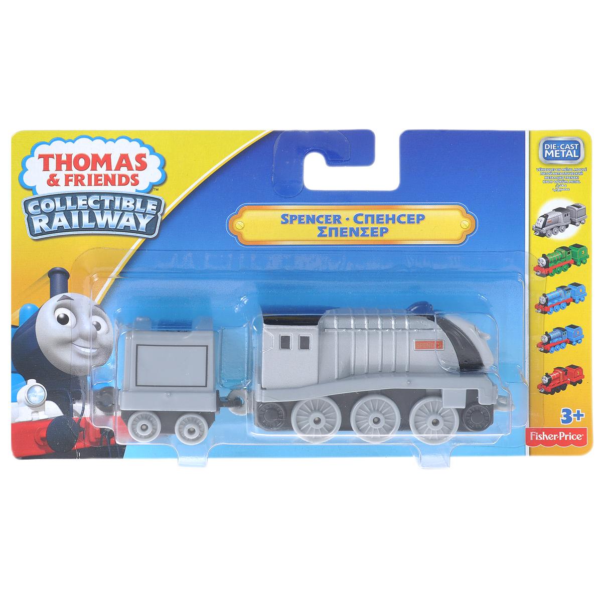 Thomas&Friends Collectors Базовый паровозик с прицепом: Спенсер
