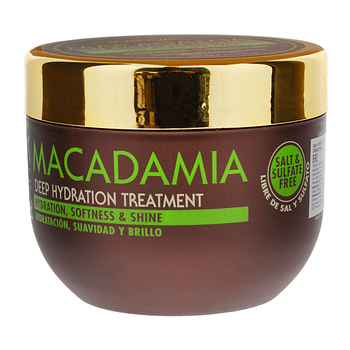 Kativa Интенсивно увлажняющий уход для нормальных и поврежденных волос с маслом макадамии MACADAMIA, 500мл