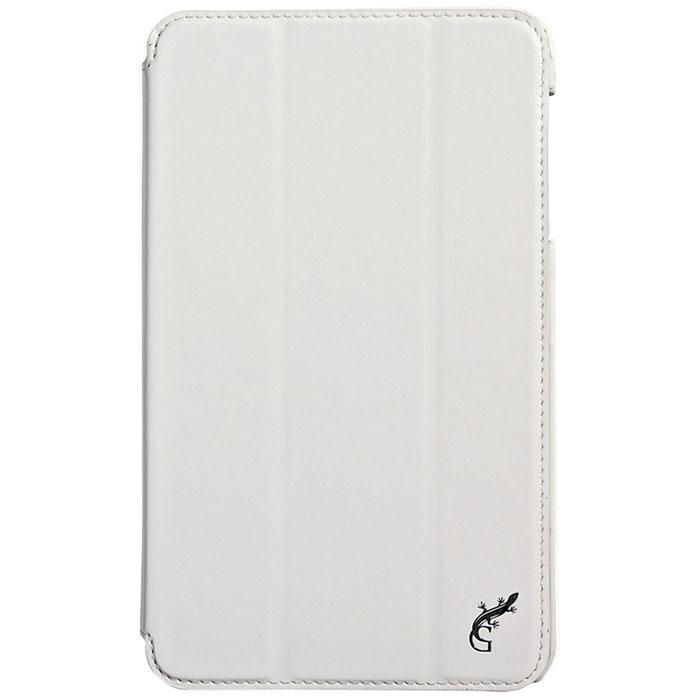 G-case Slim Premium чехол для Samsung Galaxy Tab 4 8.0, WhiteGG-362Стильный чехол-книжка G-case Slim Premium для Samsung Galaxy Tab 4 8.0 представляет собой очень полезный аксессуар,основная функция которого защищать планшет от неблагоприятных внешних воздействий. Он выполнен в очень элегантном стиле из высококачественной кожи. Чехол поможет при ударах и падениях, смягчая удары, не позволяя образовываться на корпусе царапинам и потертостям. Он идеально повторяет формы планшета и при этом надежно защищает каждую грань устройства. Все разъемы остаются свободны, а доступ к экрану осуществляется легким движением руки. Кроме того, чехол G-Case Slim Premium можно использовать в качестве двухпозиционной подставки.