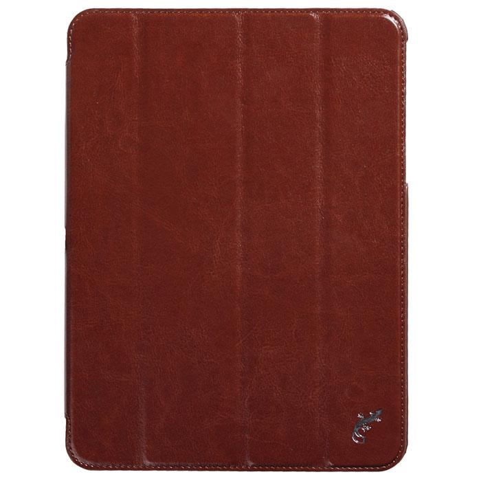 G-case Slim Premium чехол для Samsung Galaxy Tab 4 10.1, BrownGG-370Стильный чехол-книжка G-case Slim Premium для Samsung Galaxy Tab 4 10.1 представляет собой очень полезный аксессуар,основная функция которого защищать планшет от неблагоприятных внешних воздействий. Он выполнен в очень элегантном стиле из высококачественной кожи. Чехол поможет при ударах и падениях, смягчая удары, не позволяя образовываться на корпусе царапинам и потертостям. Он идеально повторяет формы планшета и при этом надежно защищает каждую грань устройства. Все разъемы остаются свободны, а доступ к экрану осуществляется легким движением руки. Кроме того чехол G-Case Slim Premium можно использовать в качестве двухпозиционной подставки.