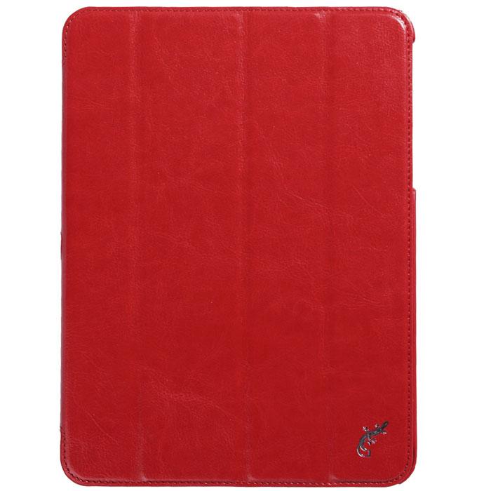 G-case Slim Premium чехол для Samsung Galaxy Tab 4 10.1, RedGG-371Стильный чехол-книжка G-case Slim Premium для Samsung Galaxy Tab 4 10.1 представляет собой очень полезный аксессуар,основная функция которого защищать планшет от неблагоприятных внешних воздействий. Он выполнен в очень элегантном стиле из высококачественной кожи. Чехол поможет при ударах и падениях, смягчая удары, не позволяя образовываться на корпусе царапинам и потертостям. Он идеально повторяет формы планшета и при этом надежно защищает каждую грань устройства. Все разъемы остаются свободны, а доступ к экрану осуществляется легким движением руки. Кроме того чехол G-Case Slim Premium можно использовать в качестве двухпозиционной подставки.