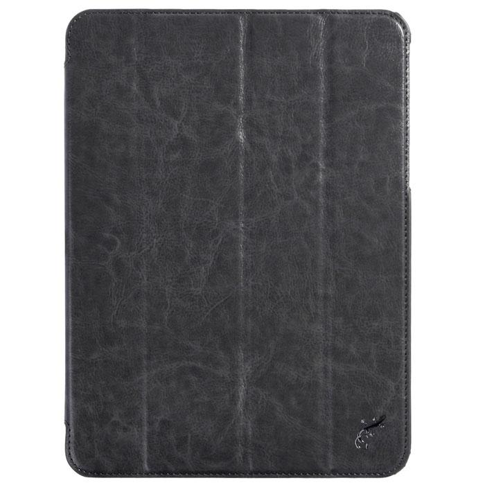 G-case Slim Premium чехол для Samsung Galaxy Tab 4 10.1, SilverGG-375Стильный чехол-книжка G-case Slim Premium для Samsung Galaxy Tab 4 10.1 представляет собой очень полезный аксессуар,основная функция которого защищать планшет от неблагоприятных внешних воздействий. Он выполнен в очень элегантном стиле из высококачественной кожи. Чехол поможет при ударах и падениях, смягчая удары, не позволяя образовываться на корпусе царапинам и потертостям. Он идеально повторяет формы планшета и при этом надежно защищает каждую грань устройства. Все разъемы остаются свободны, а доступ к экрану осуществляется легким движением руки. Кроме того чехол G-Case Slim Premium можно использовать в качестве двухпозиционной подставки.