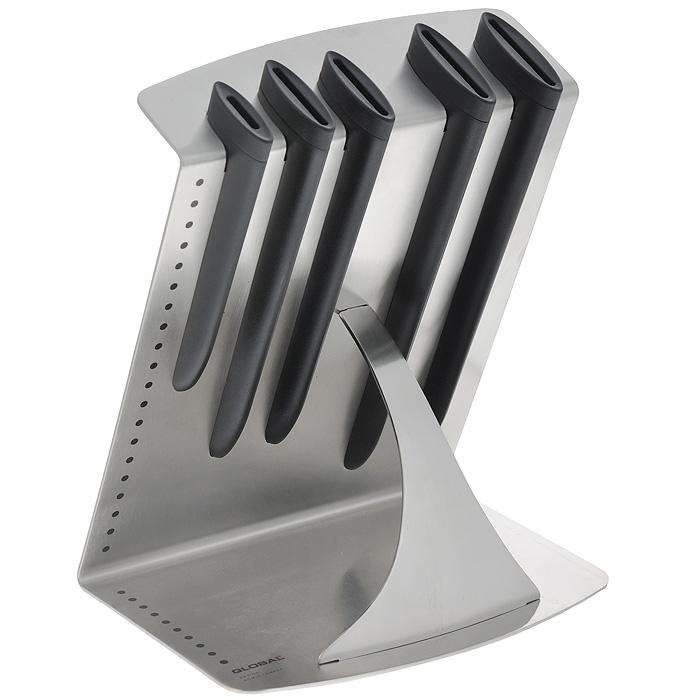 Подставка для ножей Apollo Global Z-Line, на 5 предметов, 22 см х 16 см х 27 смG-505