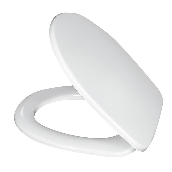 Сиденье для унитаза Iddis, цвет: белый. ID 126 DpID 126 DpРазмеры 40,6 х 36,5 х 5,5 см.