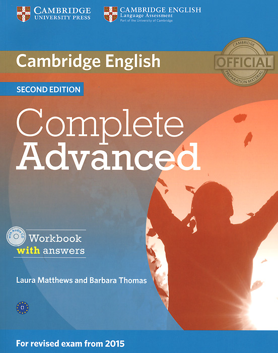 Complete Advanced: Workbook with Answers (+ CD-ROM) cambridge english complete advanced student s book without answers cd rom