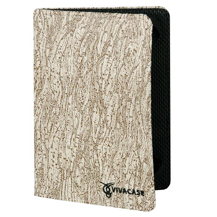 Vivacase текстильная чехол-обложка для PocketBook 641/640/631/626/625/624/623/622/615/614, Beige чехол goodegg lira для pocketbook 614 624 626 640 коричневый