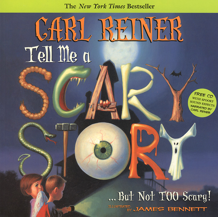 Tell Me a Scary Story (+ CD) living to tell the tale