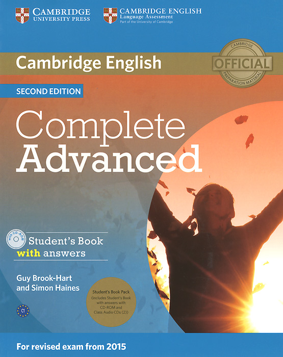 Complete Advanced: Student's Book with Answers (+ 3 CD-ROM) cambridge english complete advanced student s book without answers cd rom