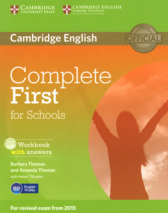 Complete First for Schools: Workbook with Answers (+ CD-ROM) mckeegan d complete key for schools students book with answers cd rom