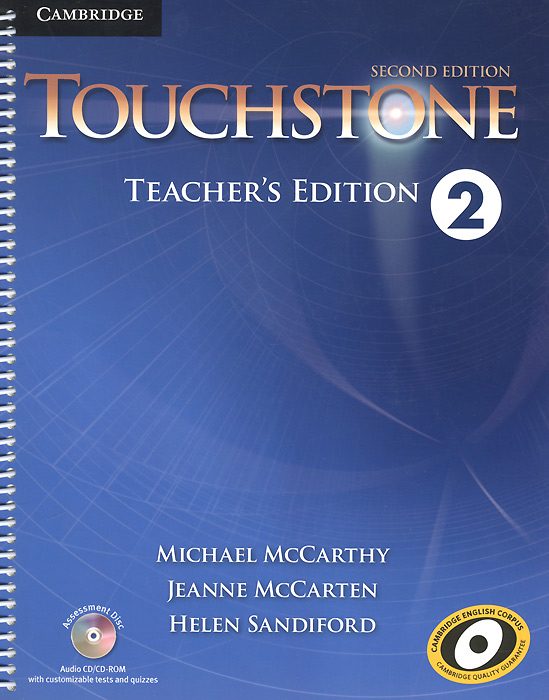 Touchstone 2: Teacher's Edition (+ CD-ROM) touchstone 3 workbook b