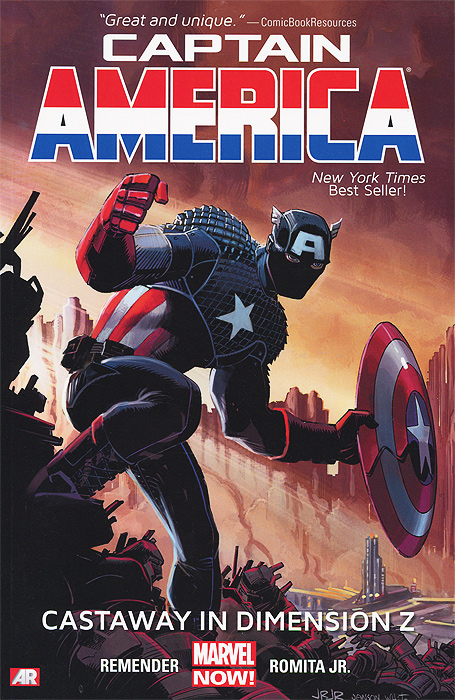 Captain America: Volume 1: Castaway in Dimension Z democracy in america nce