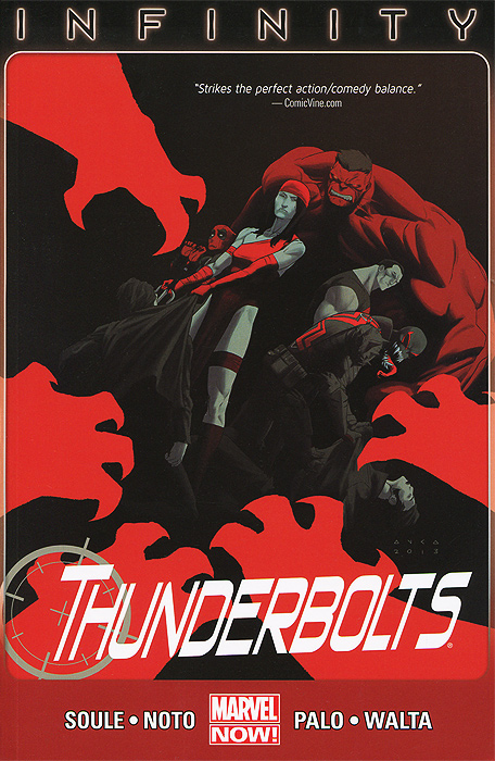 Thunderbolts: Volume 3: Infinity uncanny avengers unity volume 3 civil war ii