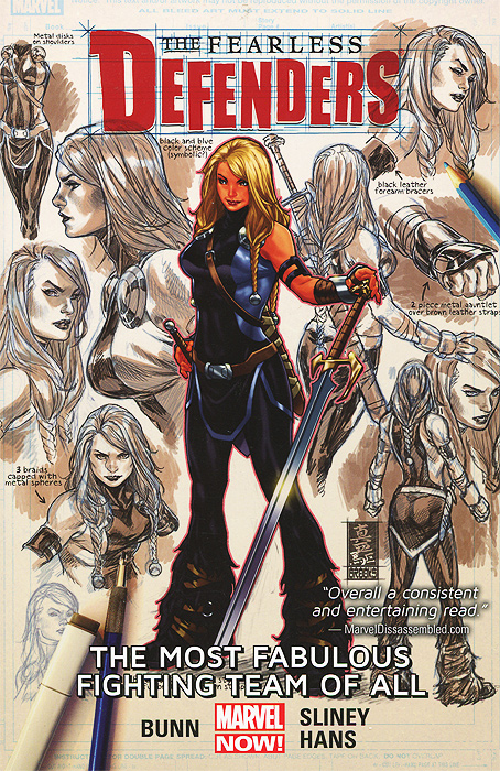 The Fearless Defenders: Volume 2: The Most Fabulous Fighting Team of All the venom of luxur