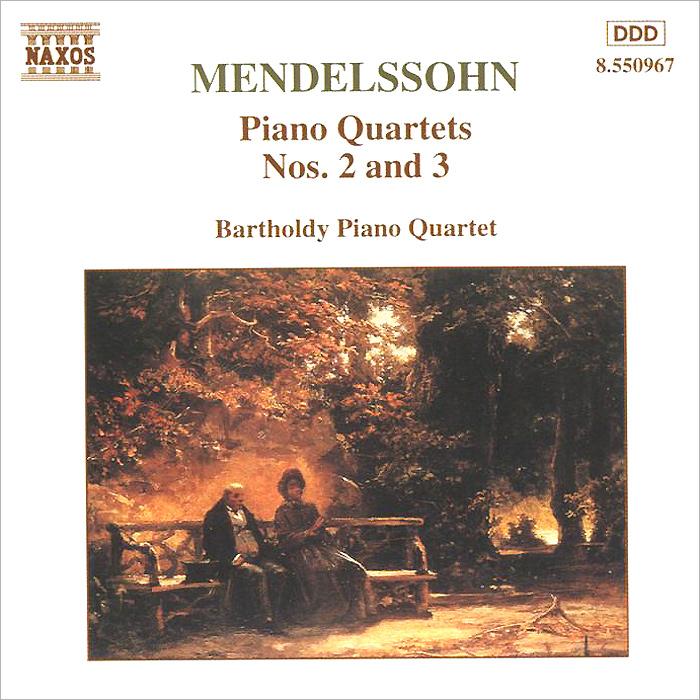 Bartholdy Piano Quartet,Йорг-Вольфганг Ян Mendelssohn. Piano Quartets Nos. 2 And 3