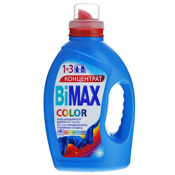 Гель для стирки BiМах Color, для цветного белья, 1,5 л645-3