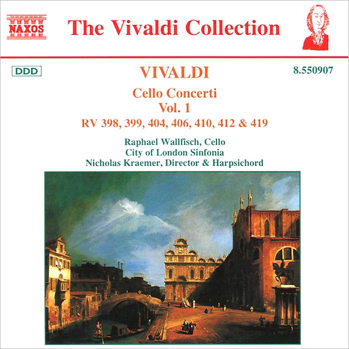 Рафаэль Воллфиш,City Of London Sinfonia,Николас Крэмер Vivaldi. Cello Concerti RV 398, 399, 404, 406, 410, 412 & 419 geely emgrand 7 ec7 ec715 ec718 emgrand7 emgrand7 rv ec7 rv ec715 rv car floor mats