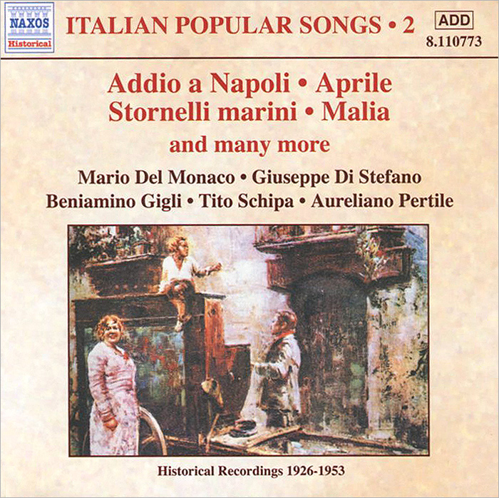 Italian Popular Songs. Vol. 2