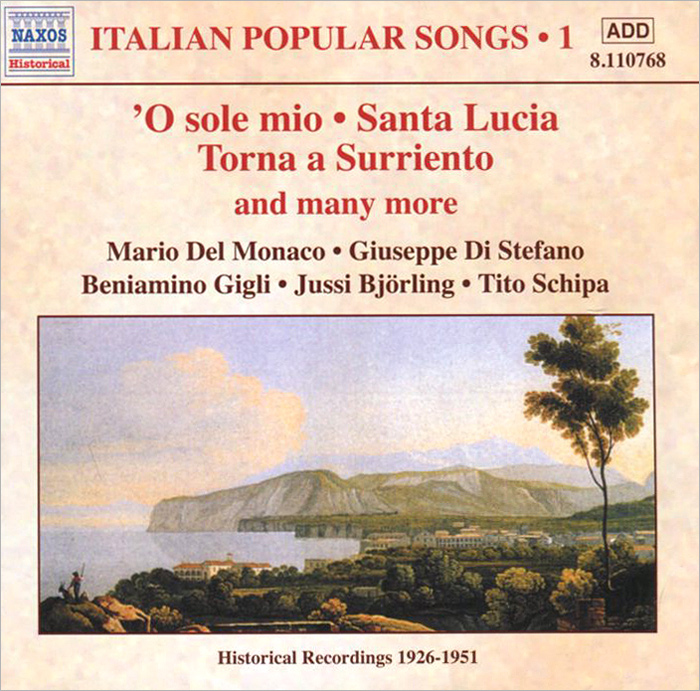 Italian Popular Songs. Vol. 1