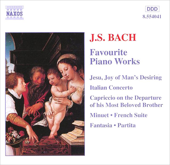 Джозеф Бановец,Лоренс Каммингс,Масааки ,Андреас Стайер J.S. Bach. Favourite Piano Works
