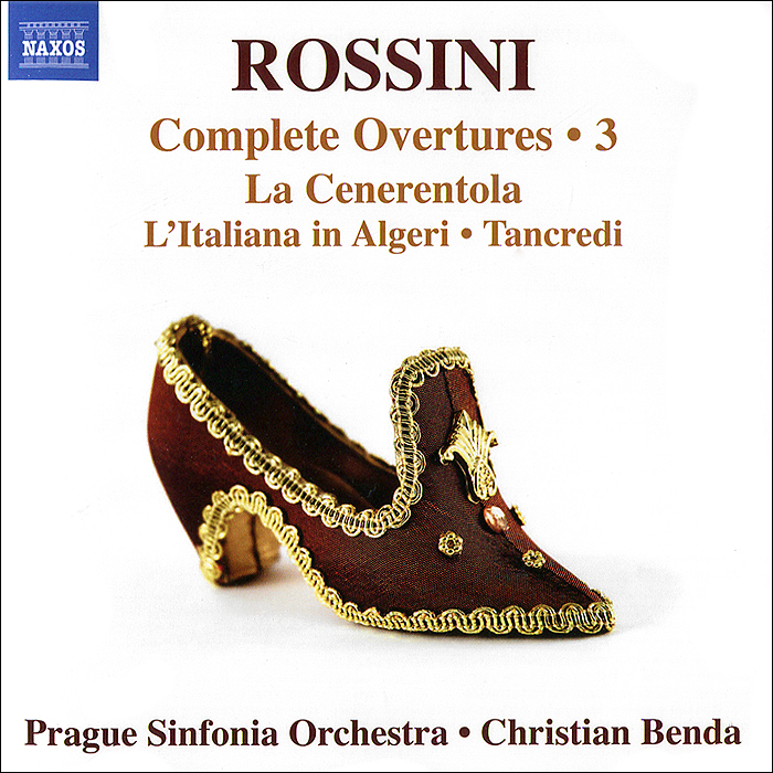 Prague Sinfonia,Кристиан Бенда Rossini. Complete Overtures 3 mika sinfonia pop