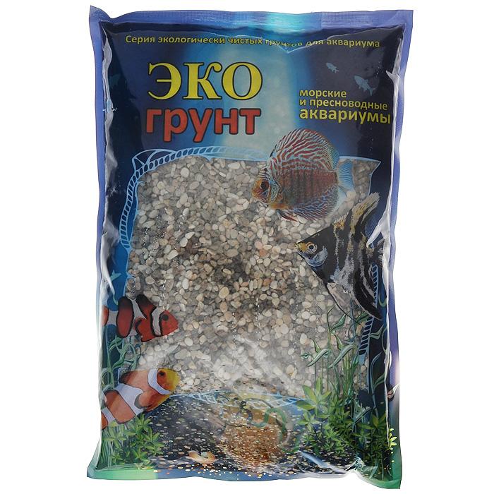 Галька реликтовая ЭКО грунт, для аквариумов, 4-8 мм, 3,5 кг галька реликтовая эко грунт для аквариумов 4 8 мм 3 5 кг
