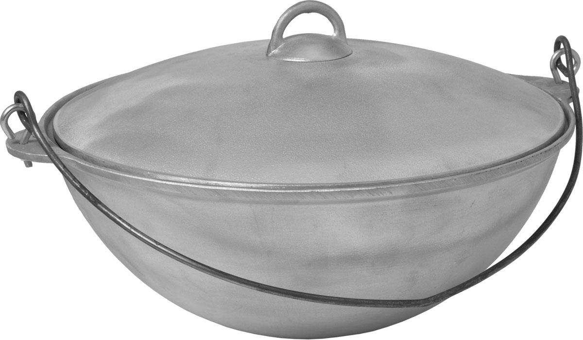 Казан Boyscout с крышкой, 8 л. 6136661366Казан Boyscout изготовлен из литого алюминия, что означает его экологичность и долговечность. Хороший казан - замечательная посуда для приготовления восточного плова, овощей, риса, тушеной баранины, лагмана, в казане делают голубцы и фаршированные перцы, жаркое, мясо с овощами, хаш, чанахи.Казан снабжен съемной ручкой-дужкой из нержавеющей стали и крышкой. Можно использовать как на природе, так и в домашних условиях.