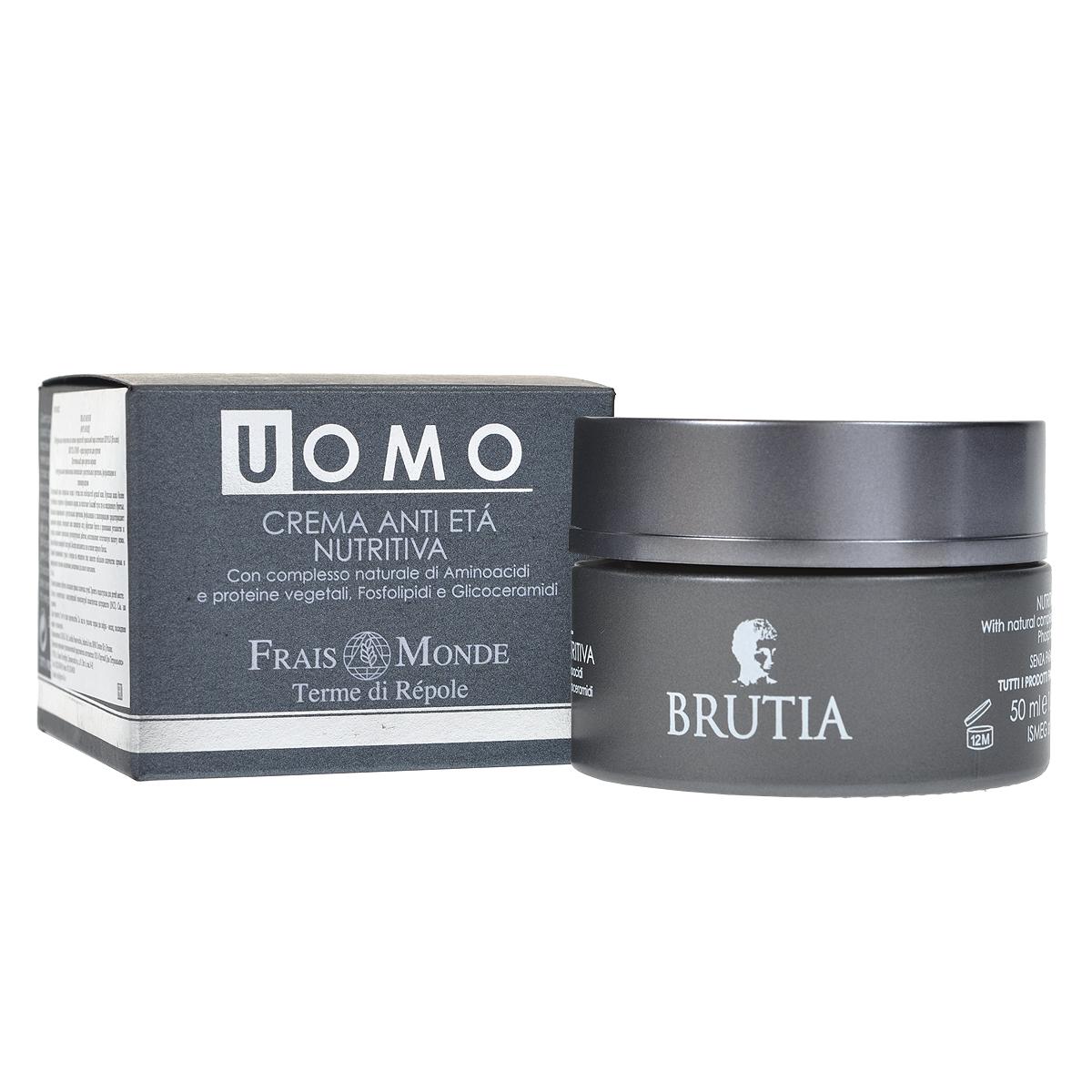 Питательный крем Brutia. Frais Monde против морщин, для мужчин, 50 мл libre derm косметика производитель