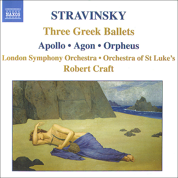 Stravinsky. Three Greek Ballets