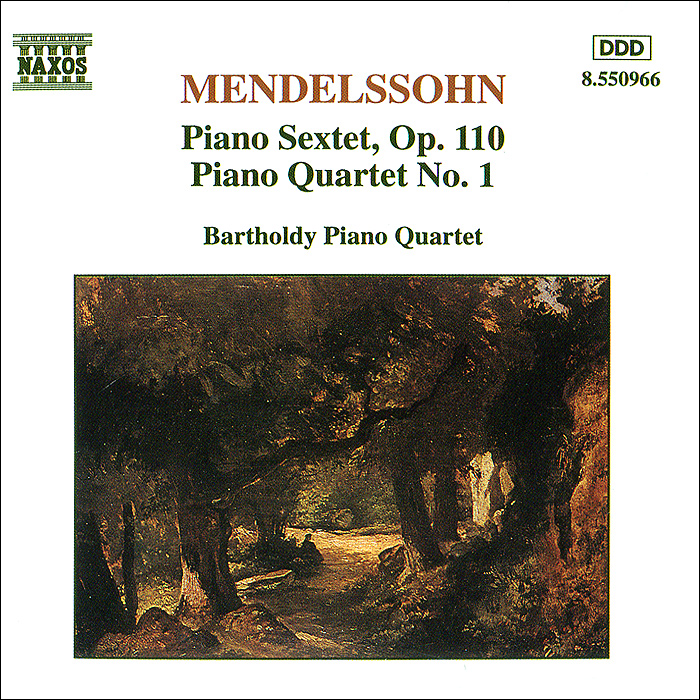Bartholdy Piano Quartet Bartholdy Piano Quartet. Mendelssohn. Piano Sextet, Op. 110 / Piano Quartet No. 1 антонин дворжак antonin dvorak vlach quartet string quartet in g major op 106 lp