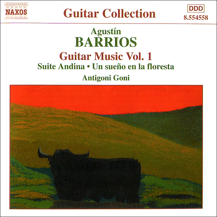 Antigoni Goni. Barrios. Guitar Music. Vol. 1